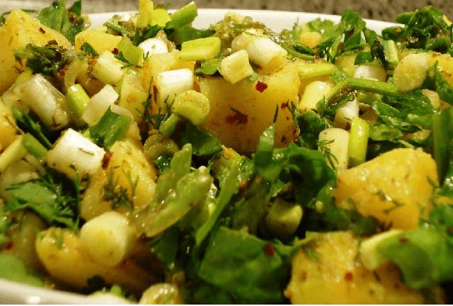 patates salatas