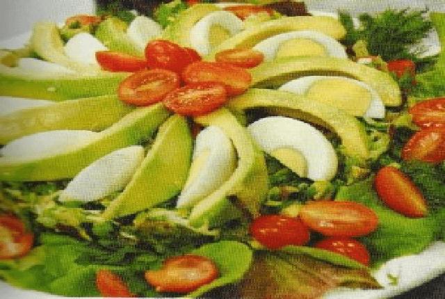 elmalı karışık salata
