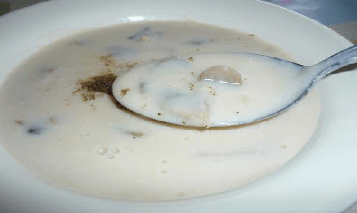 kremalı-mantar-çorbası