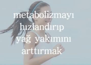 metabolizmayı hızlandırma ve hızlı yağ yakma